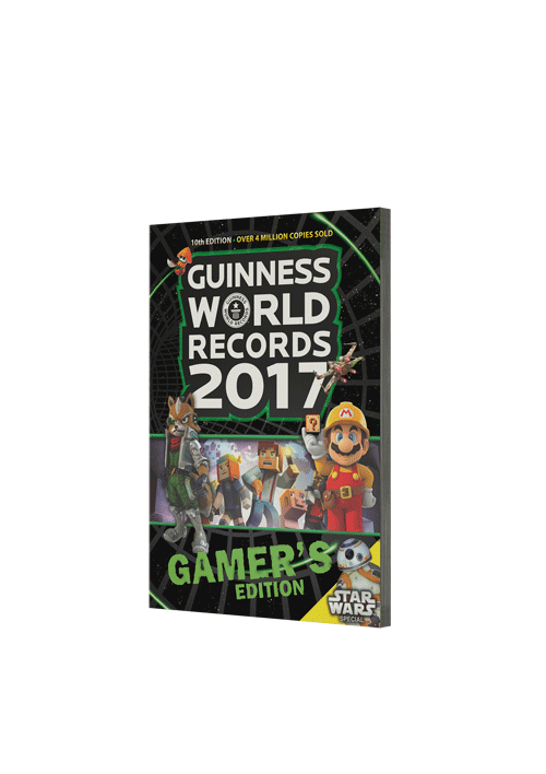 Guinness Book of World Records 2017 Gamer's Edition provided courtesy of GWR